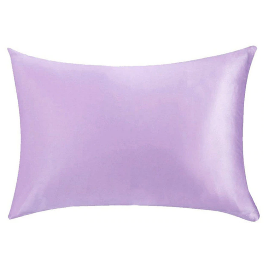 lavender silk pillowcase
