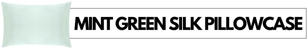 mint green silk pillowcases buy online
